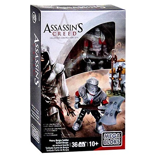 2015 Mega Bloks Assassin's Creed Heavy Borgia Soldier