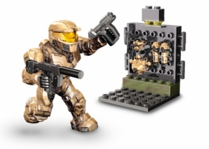 Halo Mega Bloks UNSC Armory Pack officially licensed Halo Mega Bloks product at B.A. Toys.