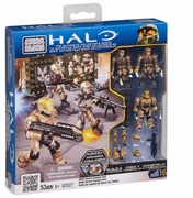 Halo Mega Bloks UNSC Desert Combat Unit officially licensed Halo Mega Bloks product at B.A. Toys.