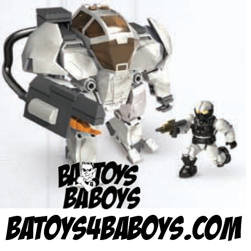 Halo Mega Bloks Arctic Cyclops officially licensed Halo Mega Bloks product at B.A. Toys.