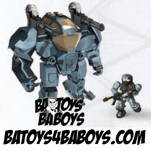 Halo Mega Bloks Attack Cyclops [Covert Ops] officially licensed Halo Mega Bloks product at B.A. Toys.