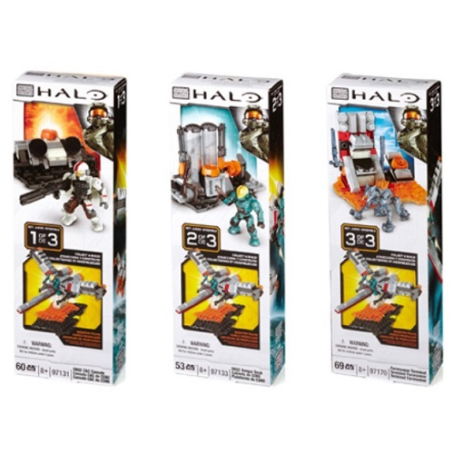 Halo Mega Bloks BAToys Booster Pack Assortment [Makes Booster Frame] officially licensed Halo Mega Bloks product at B.A. Toys.