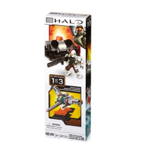 Halo Mega Bloks UNSC C&C Console [Booster Pack] officially licensed Halo Mega Bloks product at B.A. Toys.