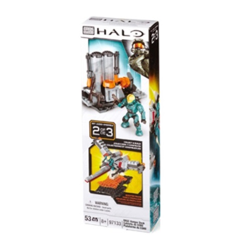 Halo Mega Bloks UNSC Hangar Deck [Booster Pack] officially licensed Halo Mega Bloks product at B.A. Toys.