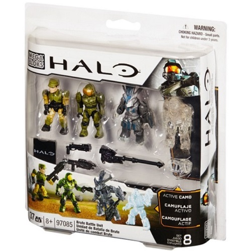 Brute Battle Pack [Combat Unit] officially licensed Halo Mega Bloks product at B.A. Toys.