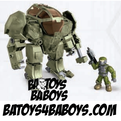 Halo Mega Bloks Cyclops Jungle Strike officially licensed Halo Mega Bloks product at B.A. Toys.