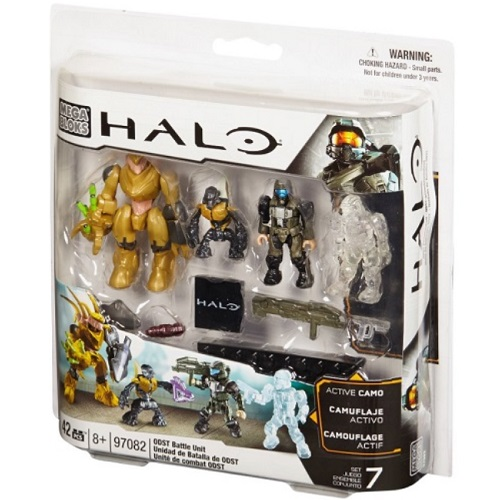 ODST Battle Pack [Combat Unit] officially licensed Halo Mega Bloks product at B.A. Toys.