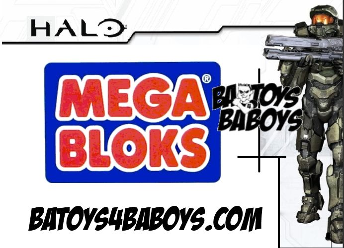 Mega Bloks Halo Series 7 Factory Sealed Bin of 48 M.A.F. officially licensed Mega Bloks Halo product at B.A. Toys.