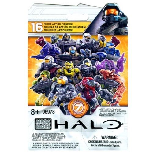 Mega Bloks Halo Series 7 M.A.F. Mystery Pack [1 Random Figure] officially licensed Mega Bloks Halo product at B.A. Toys.