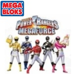 Mega Bloks Power Rangers MegaForce PRMF Blue Ranger Hero Racer officially licensed Mega Bloks Power Rangers MegaForce product at B.A. Toys.