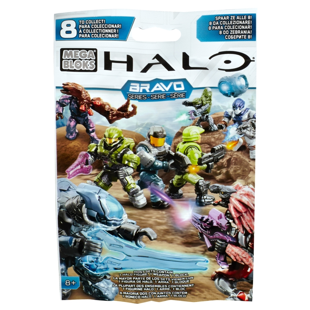 2015 Halo Mega Bloks Bravo Series M.A.F. [Micro Mini Action Figure] Mystery Pack