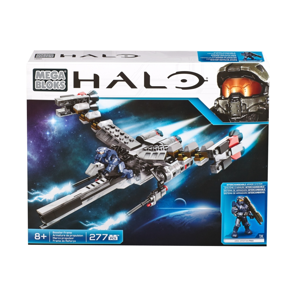 2015 Halo Mega Bloks EVA Booster Frame officially licensed Mega Bloks Halo product at B.A. Toys.