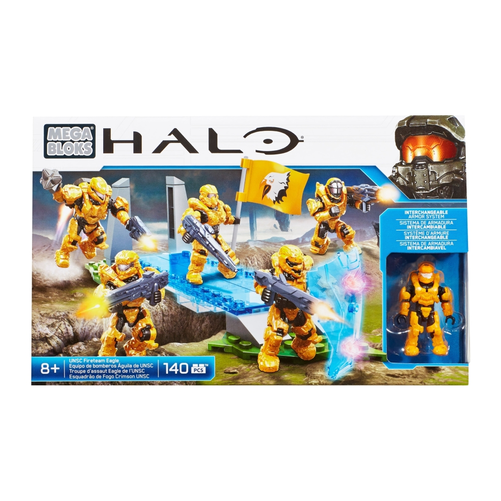 UNSC Fireteam EAGLE [Combat Unit] officially licensed Mega Bloks Halo product at B.A. Toys.