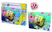 Mega Puzzles Sponge Bob & Patrick officially licensed Mega Puzzles product at B.A. Toys.