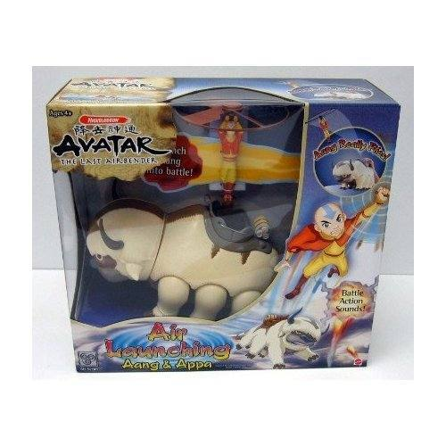 Avatar: The Last Airbender Air Launching Aang and Appa officially licensed Avatar: The Last Airbender product at B.A. Toys.