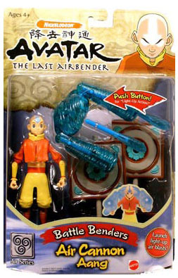Avatar: The Last Airbender Air Cannon Aang officially licensed Avatar: The Last Airbender product at B.A. Toys.