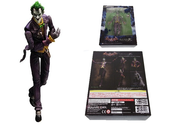 Square Enix: Play Arts Kai: Arkham Asylum Joker Action Figure officially licensed Square Enix: Play Arts Kai: product at B.A. Toys.