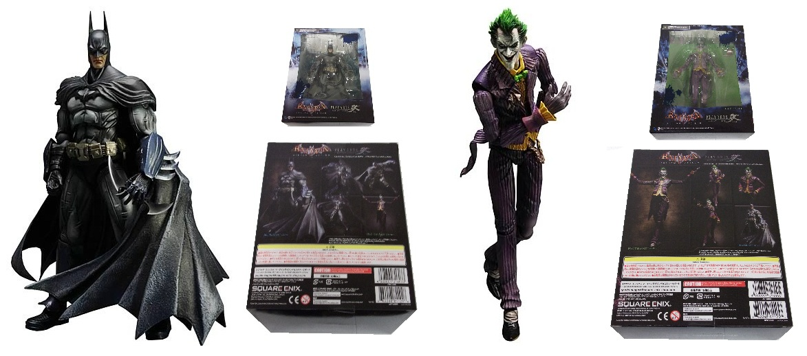 Square Enix: Play Arts Kai: Arkham Asylum Batman and Joker Set officially licensed Square Enix: Play Arts Kai: product at B.A. Toys.