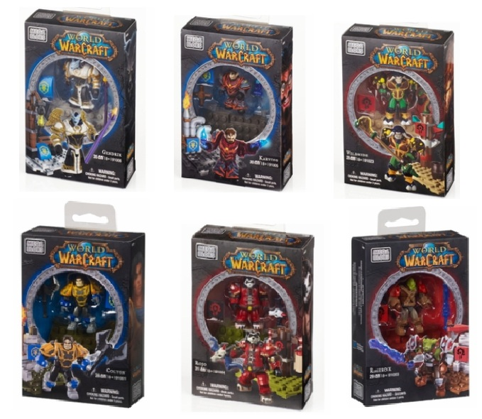 Warcraft Mega Bloks BAToys 6 Faction Pack Bundle is an officially licensed, authentic Warcraft Mega Bloks product at B.A. Toys featuring BAToys 6 Faction Pack Bundle by Warcraft Mega Bloks