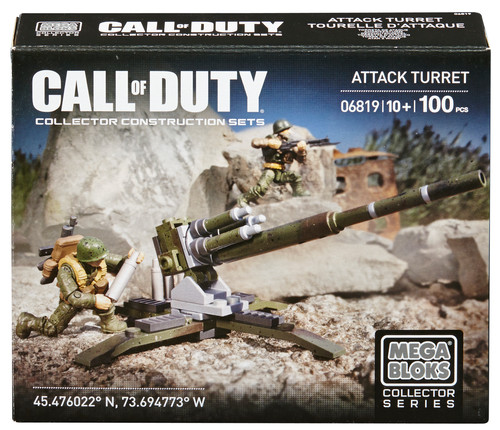 Mega Bloks Call of Duty Turret Attack is an officially licensed, authentic Mega Bloks Call of Duty product at B.A. Toys featuring Turret Attack by Mega Bloks Call of Duty