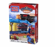 Mega Bloks Chuggington Construction Repair Shed officially licensed Mega Bloks Chuggington Construction product at B.A. Toys.