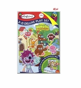 Colorforms Moshi Monsters 3D Deluxe Playset officially licensed Colorforms product at B.A. Toys.