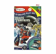 Colorforms Transformers 3D Deluxe Playset officially licensed Colorforms product at B.A. Toys.
