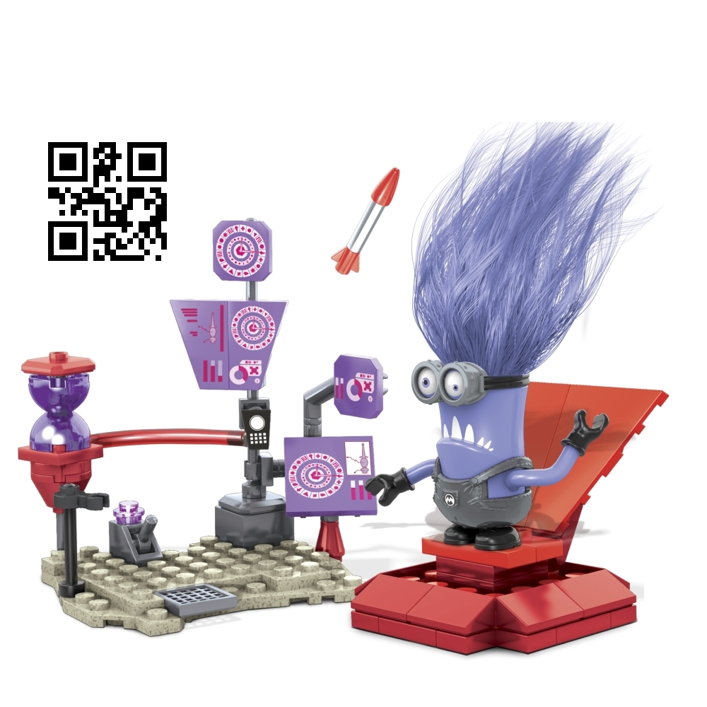 Mega Bloks Despicable ME <b>El Macho's Lab [Rocket, Control Panels & Chair]</b> officially licensed Mega Bloks Despicable ME product at B.A. Toys.