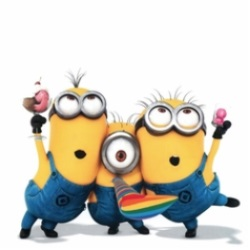 Despicable ME Minion figures dance and party to celebrate their new Mega Bloks line and set reviews.