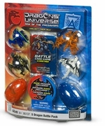 Dragons Universe Mega Bloks 5 Dragon Battle Pack officially licensed Dragons Universe Mega Bloks product at B.A. Toys.