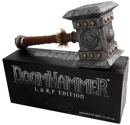 Epic Weapons: World of Warcraft DoomHammer LARP is an officially licensed, authentic Epic Weapons: World of Warcraft product at B.A. Toys featuring DoomHammer LARP by Epic Weapons: World of Warcraft