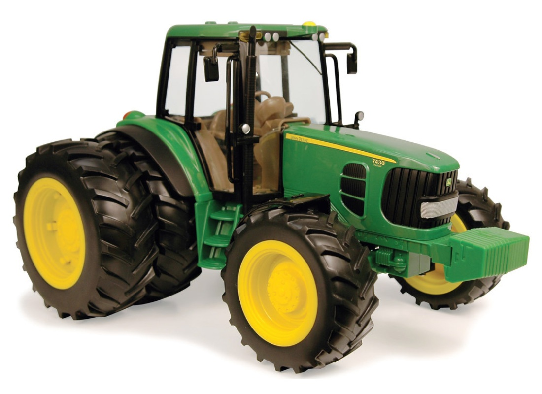 ERTL John Deere Big Farm JD 7430 Tractor with Duals 1:16 Scale is an officially licensed, authentic ERTL John Deere Big Farm product at B.A. Toys featuring JD 7430 Tractor with Duals 1:16 Scale by ERTL John Deere Big Farm