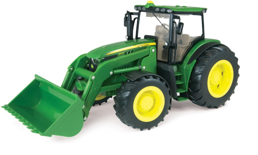 ERTL John Deere Big Farm JD 6210R Tractor with Loader 1:16 Scale officially licensed ERTL John Deere Big Farm product at B.A. Toys.