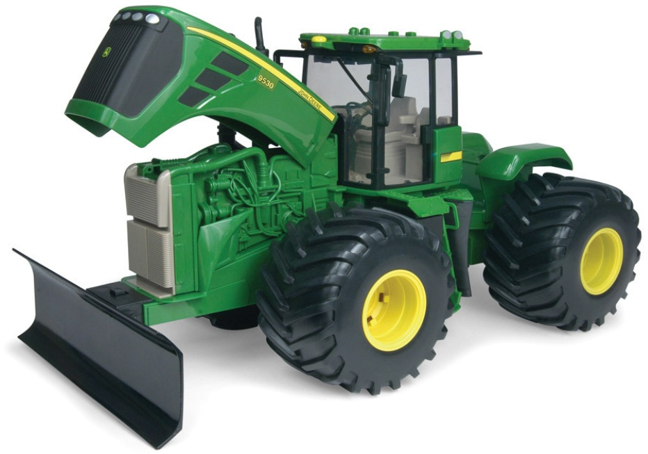 ERTL John Deere Big Farm JD 9630 4WD Tractor 1:16 Scale officially licensed ERTL John Deere Big Farm product at B.A. Toys.