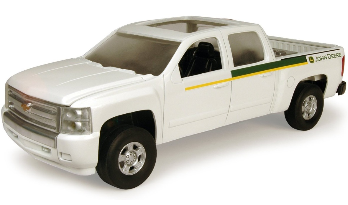 ERTL John Deere Big Farm JD Dealer Chevy Pickup Truck 1:16 Scale officially licensed ERTL John Deere Big Farm product at B.A. Toys.