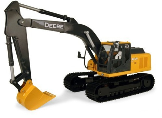 ERTL JD Big Farm John Deere 200D LC Excavator 1:16 Scale officially licensed ERTL JD Big Farm product at B.A. Toys.