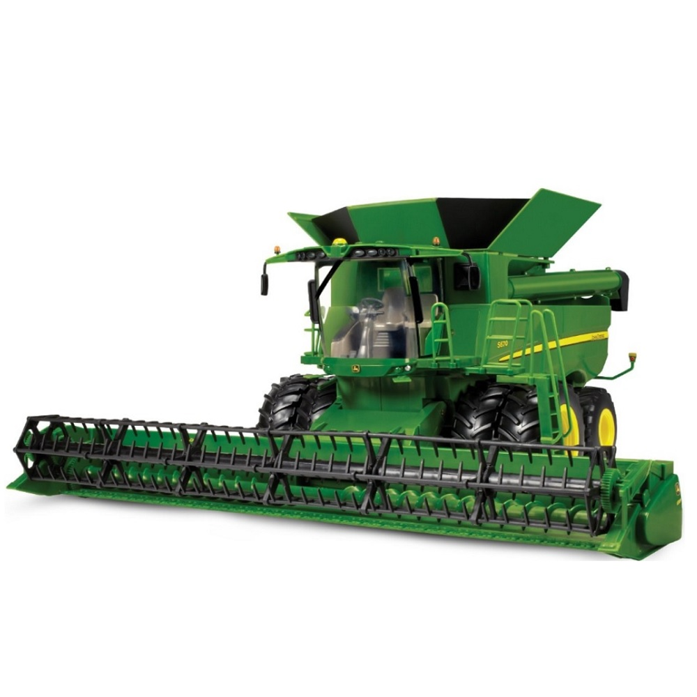 ERTL John Deere Big Farm JD S670 Combine 1:16 Scale officially licensed ERTL John Deere Big Farm product at B.A. Toys.