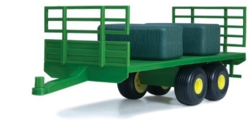 ERTL John Deere Big Farm JD Flatbed Trailer 1:16 Scale officially licensed ERTL John Deere Big Farm product at B.A. Toys.