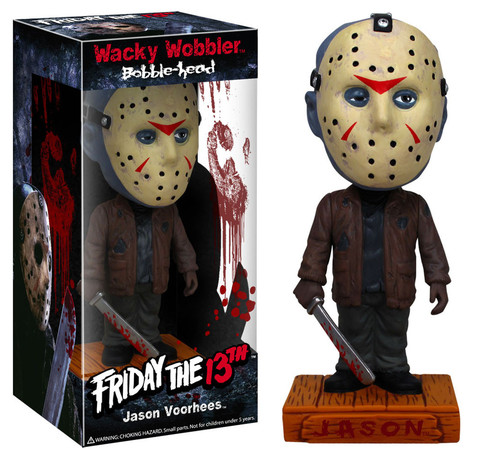 Friday the 13th Jason Voorhees WW Funko Horror Movie Wacky Wobbler officially licensed Friday the 13th product at B.A. Toys.