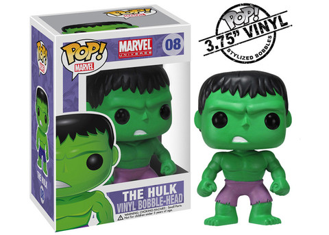 The Incredible HULK Hulk Funko Pop! Marvel Vinyl Figure officially licensed The Incredible HULK product at B.A. Toys.