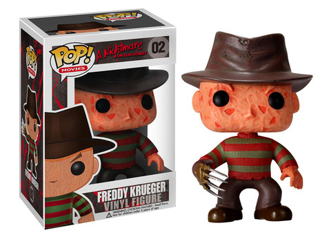 Nightmare on Elm Street Freddy Krueger Funko Pop! Movies Vinyl Figure officially licensed Nightmare on Elm Street product at B.A. Toys.
