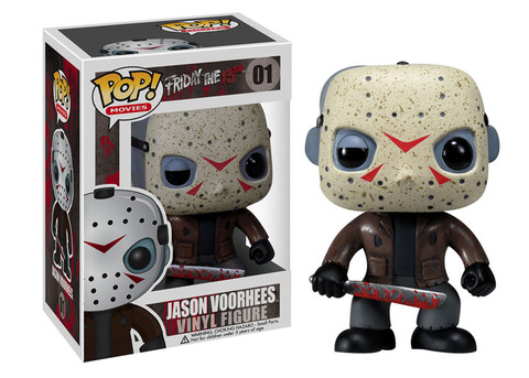 Friday the 13th Jason Voorhees Funko Pop! Movies Vinyl Figure officially licensed Friday the 13th product at B.A. Toys.