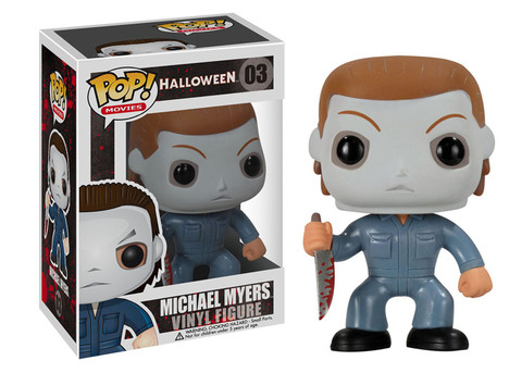 Halloween Michael Myers Funko Pop! Movies Vinyl Figure officially licensed Halloween product at B.A. Toys.