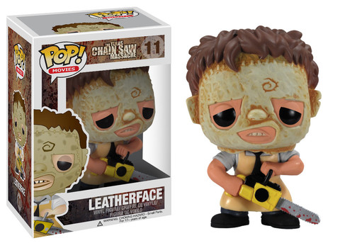 Texas Chainsaw Masacre Leatherface Funko Pop! Movies Vinyl Figure officially licensed Texas Chainsaw Masacre product at B.A. Toys.