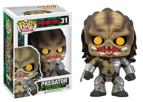 Predator Movies Predator Funko Pop! Movies Vinyl Figure officially licensed Predator Movies product at B.A. Toys.