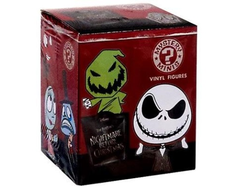 The Nightmare Before Christmas TNBC Mystery Pack Funko Minifigures Blindbox officially licensed The Nightmare Before Christmas product at B.A. Toys.