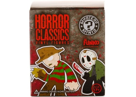 Horror Classics Horror Mystery Pack Funko Minifigures Blindbox officially licensed Horror Classics product at B.A. Toys.