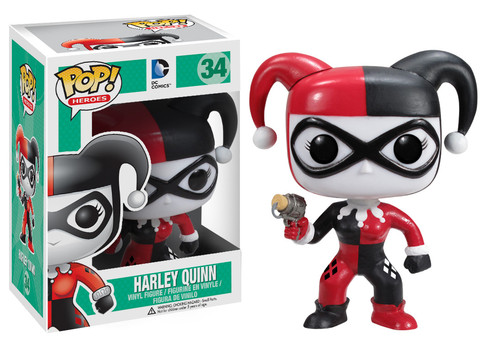 Batman Harley Quinn Funko Pop! Heroes Vinyl Figure officially licensed Batman product at B.A. Toys.