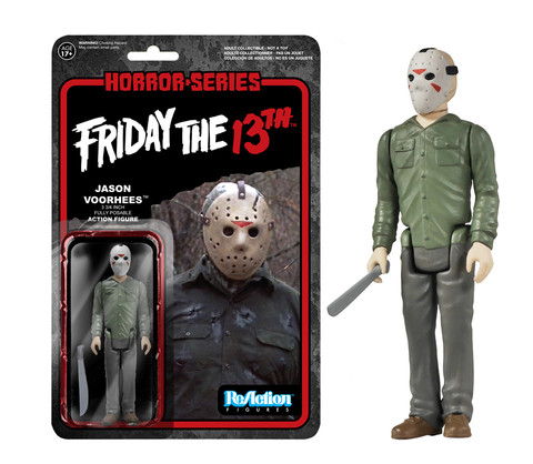 Friday the 13th Jason Voorhees Funko ReAction Retro Action Figure officially licensed Friday the 13th product at B.A. Toys.