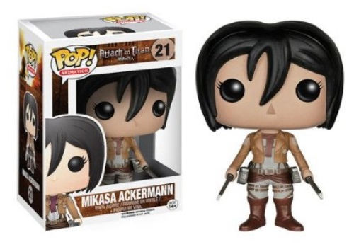 Attack on Titan Mikasa Ackerman Funko Pop! Anime Vinyl Figure
